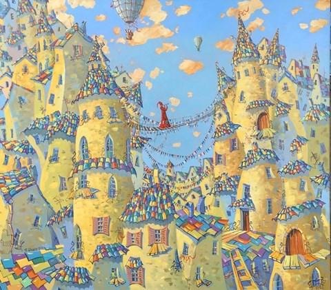 Obraz do salonu artysty Aleksander Yasin pod tytułem Trębacz
