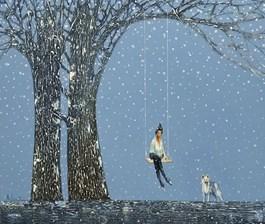 Obraz do salonu artysty Aleksander Yasin pod tytułem Bez tytułu