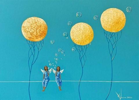 Obraz do salonu artysty Aleksander Yasin pod tytułem Linia życia II