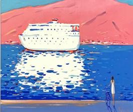 Obraz do salonu artysty Aleksander Yasin pod tytułem Marzenie w zwierciadle