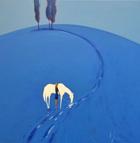 Obraz do salonu artysty Aleksander Yasin pod tytułem Quo Vadis