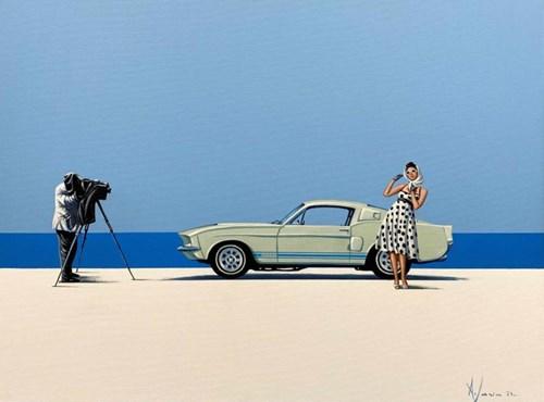 Obraz do salonu artysty Aleksander Yasin pod tytułem Szybkość i ulotność