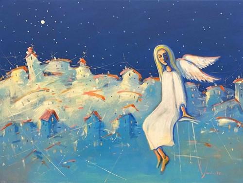 Obraz do salonu artysty Aleksander Yasin pod tytułem Anioł