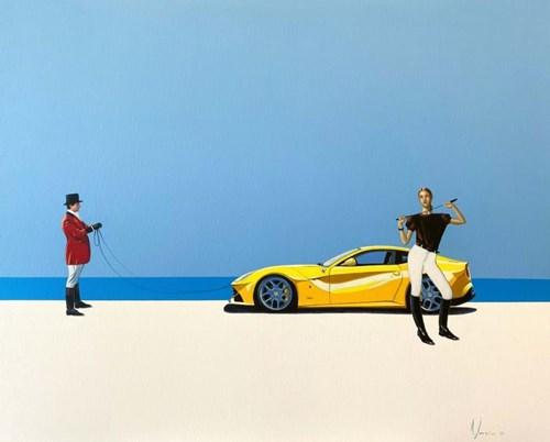 Obraz do salonu artysty Aleksander Yasin pod tytułem Spirit of freedom