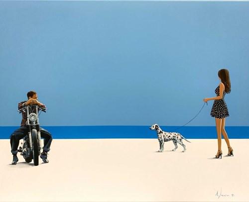 Obraz do salonu artysty Aleksander Yasin pod tytułem Personifikacja miłości