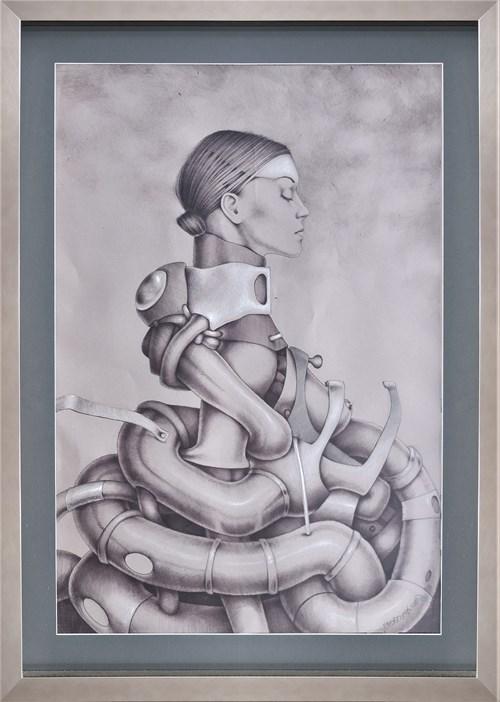 Obraz do salonu artysty Marcin Tomaszewski pod tytułem Portret