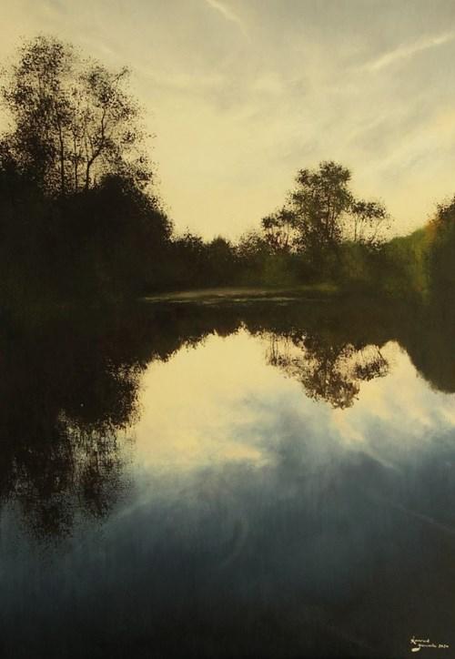 Obraz do salonu artysty Konrad Hamada pod tytułem Odbicia