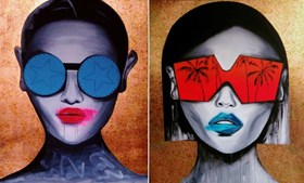 Untitled 11 and 12 (diptych)