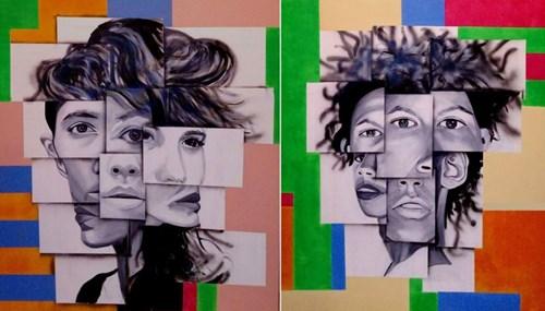 Obraz do salonu artysty Magdalena Karwowska pod tytułem Dyptyk (9 oraz 10)