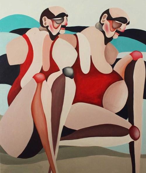 Obraz do salonu artysty Mirela Bukała pod tytułem Defetyzm