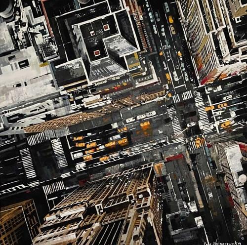 Obraz do salonu artysty Ewa Wojnarowska pod tytułem NY 21.2