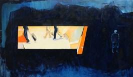 Obraz do salonu artysty Krzysztof Musiał pod tytułem Portal R