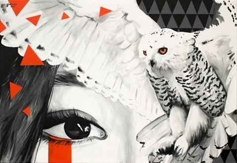 Obraz do salonu artysty Zuzanna Jankowska pod tytułem Łowca wspomnień