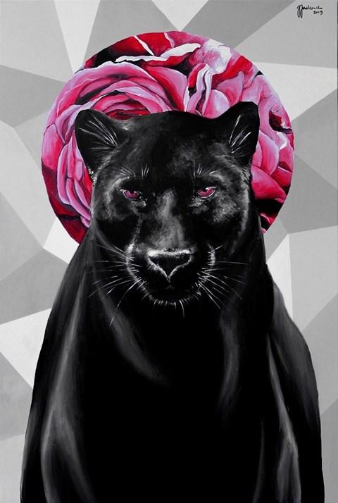 Obraz do salonu artysty Zuzanna Jankowska pod tytułem Dziki kwiat róży