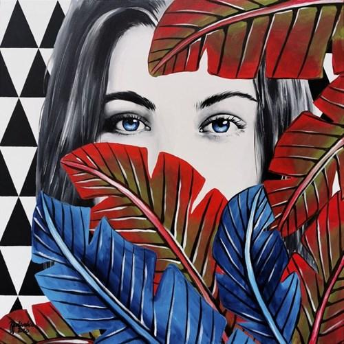 Obraz do salonu artysty Zuzanna Jankowska pod tytułem Intro