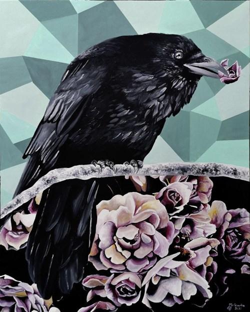 Obraz do salonu artysty Zuzanna Jankowska pod tytułem A Losing Game