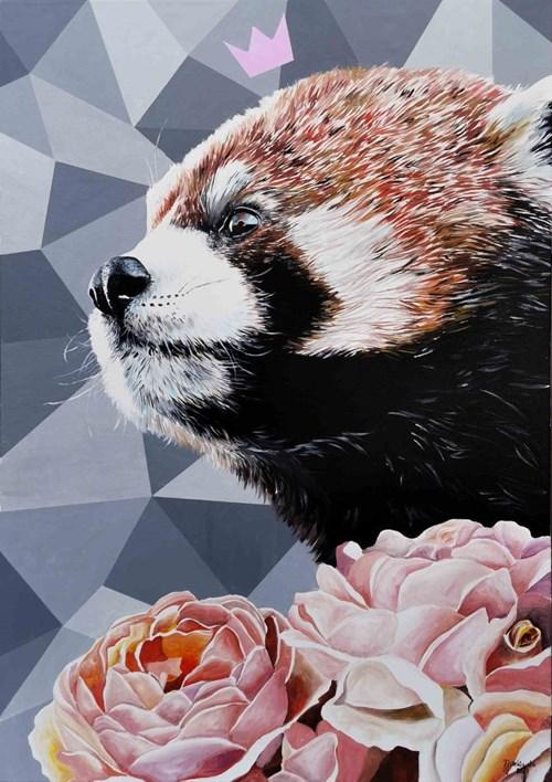 Obraz do salonu artysty Zuzanna Jankowska pod tytułem Nie szop, nie lis, a panda