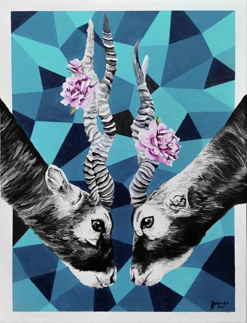 Obraz do salonu artysty Zuzanna Jankowska pod tytułem Kwitnące
