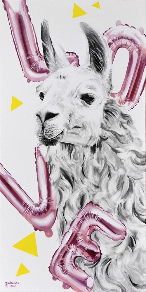 Obraz do salonu artysty Zuzanna Jankowska pod tytułem Love