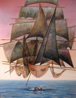 Obraz do salonu artysty Andrzej Wroński pod tytułem Nadzieja