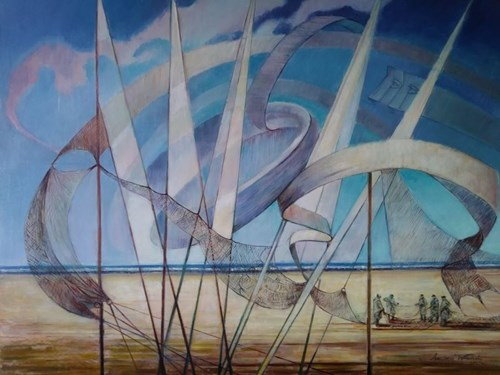 Obraz do salonu artysty Andrzej Wroński pod tytułem Potęga natury