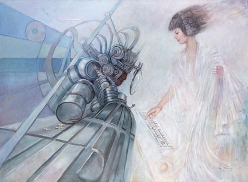 Obraz do salonu artysty Andrzej Wroński pod tytułem Program 10V