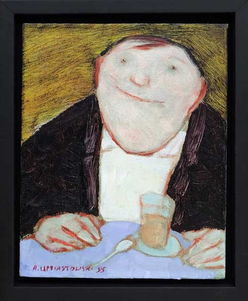 Obraz do salonu artysty Andrzej Umiastowski pod tytułem Portret