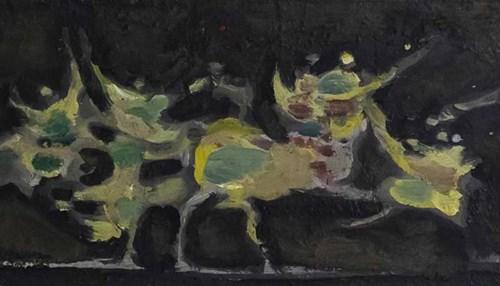 Obraz do salonu artysty Alfred Aberdam pod tytułem Bez tytułu