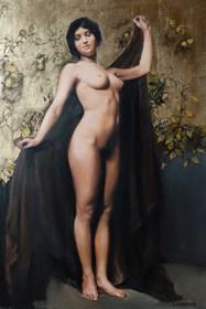 Obraz do salonu artysty Jan Dubrowin pod tytułem Rajski Ogród