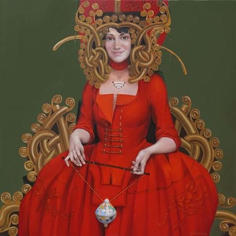 Obraz do salonu artysty Andrejus Kovelinas pod tytułem Zabawka cesarzowej