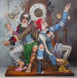 Obraz do salonu artysty Andrejus Kovelinas pod tytułem Break time