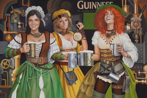 Obraz do salonu artysty Andrejus Kovelinas pod tytułem Cheers