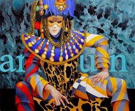 Obraz do salonu artysty Andrejus Kovelinas pod tytułem Arlequin