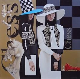 Obraz do salonu artysty Andrejus Kovelinas pod tytułem Chess