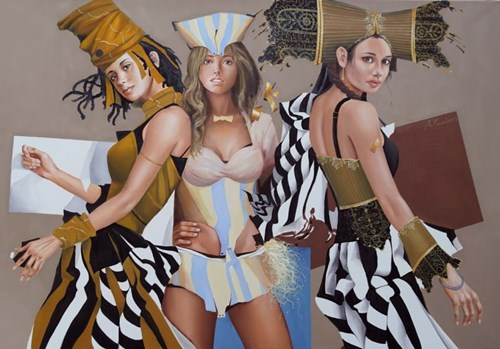 Obraz do salonu artysty Andrejus Kovelinas pod tytułem Słony karmel