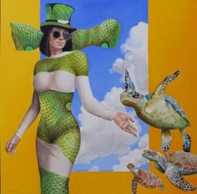 Obraz do salonu artysty Andrejus Kovelinas pod tytułem Walk