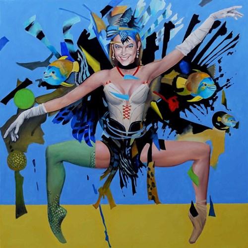 Obraz do salonu artysty Andrejus Kovelinas pod tytułem Intense Dance