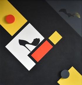 Karnawał - Warcaby z Mondrianem