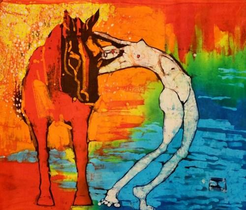 Obraz do salonu artysty Joanna Czubak pod tytułem Upał