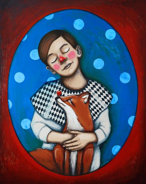 Obraz do salonu artysty Małgorzata Rukszan pod tytułem Ancymon