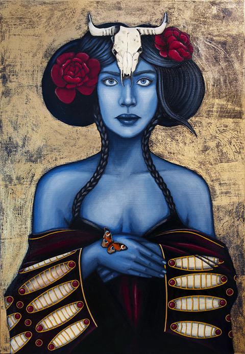 Obraz do salonu artysty Małgorzata Rukszan pod tytułem Vestica
