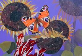 Obraz do salonu artysty Janina Zaborowska pod tytułem Słoneczniki