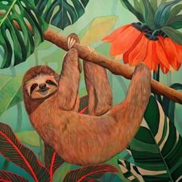 Obraz do salonu artysty Janina Zaborowska pod tytułem Siesta