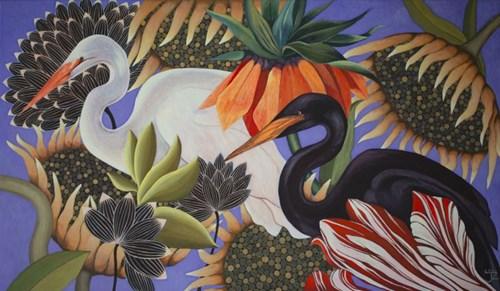 Obraz do salonu artysty Janina Zaborowska pod tytułem Schadzka