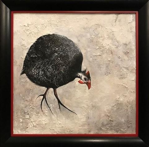 Obraz do salonu artysty Klaudia Choma pod tytułem Perliczka