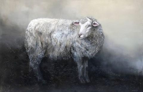 Obraz do salonu artysty Klaudia Choma pod tytułem Owca