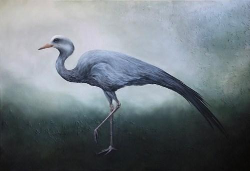 Obraz do salonu artysty Klaudia Choma pod tytułem Żuraw rajski