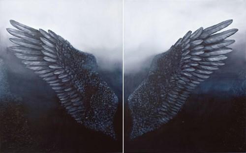 Obraz do salonu artysty Klaudia Choma pod tytułem Sztuka latania
