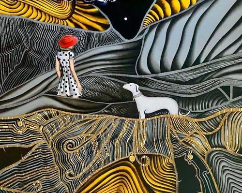 Obraz do salonu artysty Agata Padol pod tytułem Nieoczywistość drobiazgu