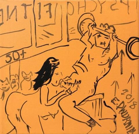 Obraz do salonu artysty Edward Dwurnik pod tytułem 50plus
